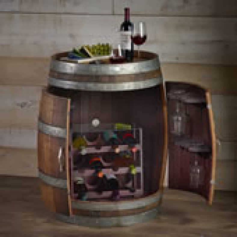 The Authentic Wine Barrel Cabinet